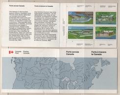 "Kanada 1983 Markenheftchen 86 MiNr.: HB106 ""Forts"" Postfrisch; Canada Booklet MNH - Cuadernillos Completos/libretas Completas"