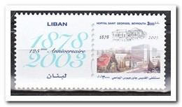 Libanon 2004, Postfris MNH, 125 Years Saint-Georges Hospital - Libanon