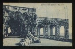 Italia. Liguria. Genova. *Lido D'Albaro - La Grotta* Ed. F. Call Nº 41380. Circulada 1925. - Genova (Genoa)