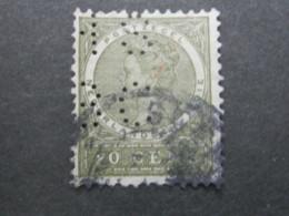 NEDERLANDE INDIEN  , Perfin , Perfore , Lochung - Nederlands-Indië