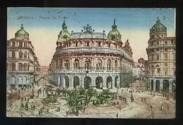 Genova. *Piazza Di Ferrari* Circulada 1921. - Genova (Genoa)