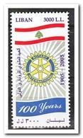 Libanon 2005, Postfris MNH, 100 Years Rotary International - Libanon
