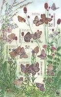 2002,  Tschechische Republik,Ceska 324/27 Block17, Naturschutz - Schmetterlinge. MNH ** - Tschechische Republik