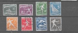 Serie De Holanda Nº Yvert 199/06 O - 1891-1948 (Wilhelmine)