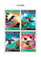 MALDIVES 2018 - Colibri. Official Issue - Hummingbirds