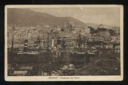 Genova. *Panorama Dal Porto* Nueva. - Genova (Genoa)