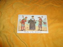 CHROMO OU IMAGE ANCIENNE DATE ?. / EDITIONS EDUCATIVES PARIS. / L'HUITRE ET LES PLAIDEURS. CALVET ROGNIAT.. - Cromo