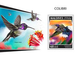 MALDIVES 2018 - Colibri S/S Official Issue - Hummingbirds