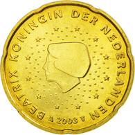 Pays-Bas, 20 Euro Cent, 2003, SUP, Laiton, KM:238 - Pays-Bas