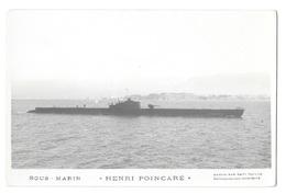 (21899-00) Sous Marin - Henri Poincaré - Sous-marins