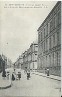 Saint-Quentin,Lycée De Jeunes Filles,Rue D'Alsace Et Béguinage Saint-Augustin 1910 - Saint Quentin