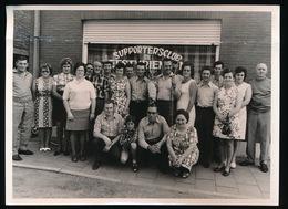 BEERVELDE   - FOTO 1973 - 18 X 13 CM  - KONINGSCHIETING BOOGSCHUTTERS - Lochristi