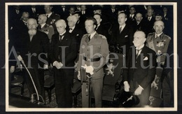 Postcard / ROYALTY / Belgique / België / Roi Leopold III / Koning Leopold III / 1937 / Sénat / Bruxelles / Brussel - Characters