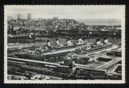 Genova. *Panorama E Porto* Circulada 1956. - Genova (Genoa)