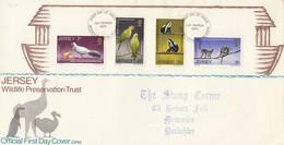 GOOD JERSEY FDC 1971 - Birds & Animals - Jersey