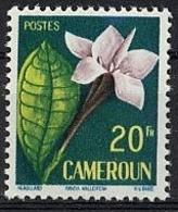 Cameroun, 1959, Definitive, Flower, Blossom, MNH, Michel 319 - Camerun (1915-1959)