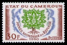Cameroun, 1960, World Refugee Year, WRY, United Nations, MNH, Michel 324 - Kameroen (1960-...)