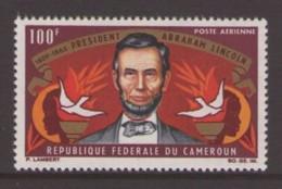 Cameroun, 1965, President Abraham Lincoln, MNH, Michel 424 - Camerun (1960-...)
