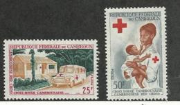 Cameroun, 1965, Red Cross, Health, Medicine, MNH, Michel 425-426 - Camerun (1960-...)
