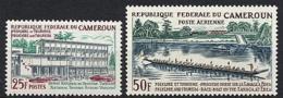 Cameroun, 1965, Tourism, Boat, MNH, Michel 444-445 - Camerun (1960-...)