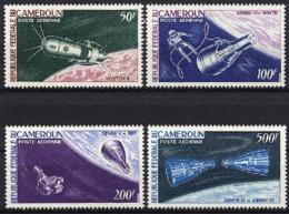 Cameroun, 1966, Space, Space Craft, MNH, Michel 449-452 - Camerun (1960-...)