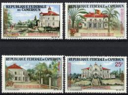 Cameroun, 1966, Reunification, Presidential Palace, MNH, Michel 484-487 - Cameroon (1960-...)