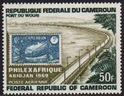 Cameroun, 1969, Philexafrique, Bridge, MNH, Michel 564 - Kameroen (1960-...)