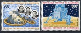 Cameroun, 1969, Space, Apollo 11, Moon Landing, MNH, Michel 600-601 - Camerun (1960-...)