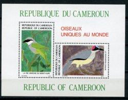 Cameroun, 1991, Birds, Animals, Fauna, MNH, Michel Block 30 - Kameroen (1960-...)