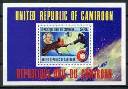 Cameroun, 1977, Space, Apollo, Soyuz, MNH, Michel Block 16 - Kameroen (1960-...)