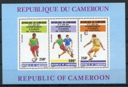Cameroun, 1984, European Soccer Championships, Football, MNH, Michel Block 23 - Cameroon (1960-...)