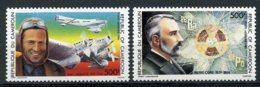Cameroun, 1986, Mermoz, Pilot, Airplane, Curie, Physics, Nobel Prize, MNH, Michel 1138-1139 - Kameroen (1960-...)