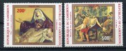 Cameroun, 1984, Easter, Sculptures, Paintings, MNH, Michel 1032-1033 - Kameroen (1960-...)