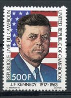 Cameroun, 1983, President John F Kennedy, JFK, Flag, MNH, Michel 1001 - Kameroen (1960-...)