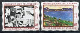Cameroun, 1981, Paintings, Picasso, Cezanne, Art, MNH, Michel 963-964 - Kameroen (1960-...)
