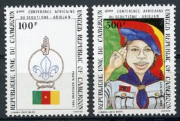 Cameroun, 1981, African Scouting Jamboree, Scouts, MNH, Michel 960-961 - Kameroen (1960-...)