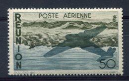 9343  REUNION  PA 42 ** 50F Bleu Et Brun-olive  Série Courante     1947  TTB - Réunion (1852-1975)