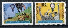 Cameroun, 1979, Atlantic Balloon Crossing, MNH, Michel 919-920 - Kameroen (1960-...)