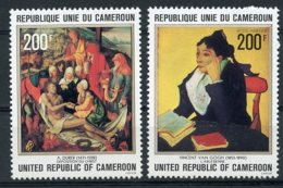 Cameroun, 1978, Paintings, Durer, Van Gogh, Art, MNH, Michel 880-881 - Kameroen (1960-...)