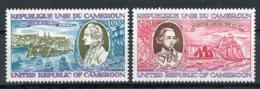 Cameroun, 1978, Captain James Cook, Explorer, Discoverer, Ships, Boats, MNH, Michel 883-884 - Kameroen (1960-...)