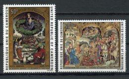 Cameroun, 1975, Christmas Paintings, Art, MNH, Michel 814-815 - Cameroun (1960-...)