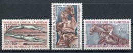 Cameroun, 1972, Olympic Summer Games Munich, Swimming, Boxing, Horse Jumping, MNH, Michel 700-702 - Kamerun (1960-...)