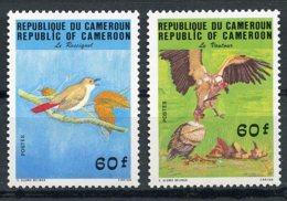 Cameroun, 1984, Birds, Animals, Fauna, MNH, Michel 1059-1060 - Kameroen (1960-...)