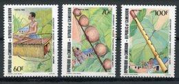 Cameroun, 1985, Music Instruments, MNH, Michel 1074-1076 - Kameroen (1960-...)