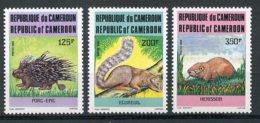 Cameroun, 1985, Wart Hog, Rat, Animals, Fauna, MNH, Michel 1093-1095 - Cameroon (1960-...)