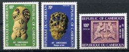 Cameroun, 1985, Art, Mask, Wood Carving, Artefacts, Culture, MNH, Michel 1096-1098 - Cameroon (1960-...)