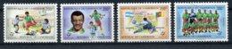 Cameroun, 1990, Soccer World Cup Italy, Football, MNH, Michel 1160-1163 - Cameroon (1960-...)