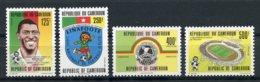 Cameroun, 1992, Soccer, Football, Sports, MNH, Michel 1188-1191 - Cameroon (1960-...)