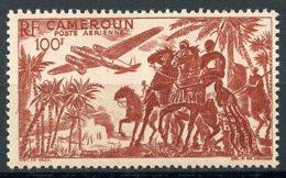 Cameroun, 1947, Horse Riding, Airplane, Landscape, Scenery, MNH, Michel 297 - Non Classés