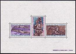 Cameroun, 1972, Olympic Summer Games Munich, Swimming, Boxing, Horse Jumping, MNH, Michel Block 9 - Kamerun (1960-...)